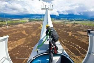 SARETEC wind turbine service technicians graduate