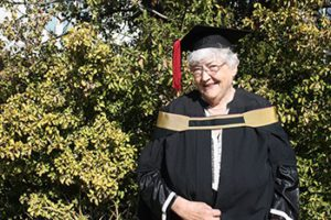 75-year-old UFS student follows her dreams