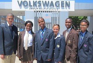 Volkswagen put bursars on the road to success