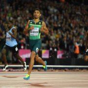 Kovsies Wayde van Niekerk shows his star qualities on track