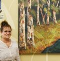 I am UWC: Elna Roux gives back to dentistry faculty artistically