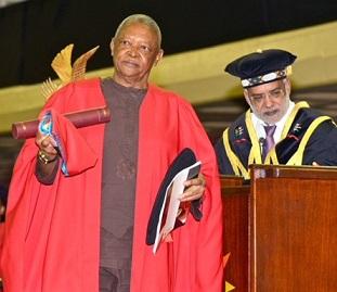 Tribute to Hugh Masekela Doctor of Music (honoris causa)