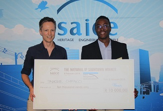 SAICE award for urine research project