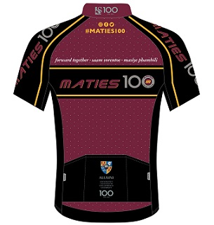 #Maties100 cyclists coming together for bursaries