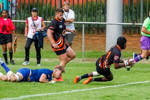 Two-try UJ wing underlines his potential