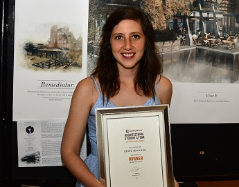 UP's Renée Minnaar wins a place at 31st Corobrik Architectural Student of the Year Awards