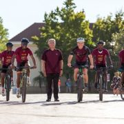 Kayamandi cyclists join #Maties100 for Cape Town Cycle Tour