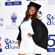 International student broke barriers & now celebrates her success