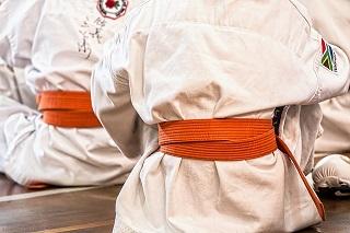 Education academic wins Gold at Karate Championship