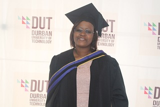 Circumstances did not deter Ndebele from her education