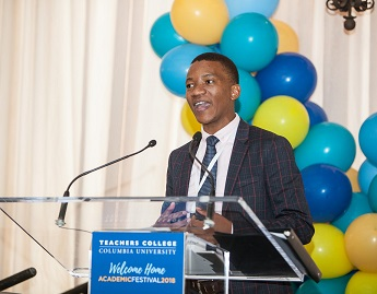 UKZN Dean receives Columbia University 2018 distinguished Early Career Award