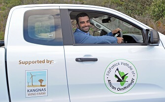 Kangnas Wind Farm partners with Fitzpatrick Institute in support of bird study
