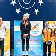 UJ's Pienaar takes silver at world varsity squash champs