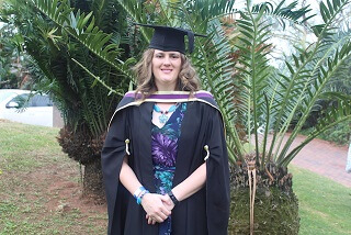DUT Dr Logtenberg graduates with 39 distinctions and opens a private practice