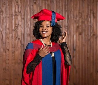 UP economics PhD graduate taught herself matric higher maths