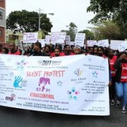 DUT silent protest tackles gender-based violence