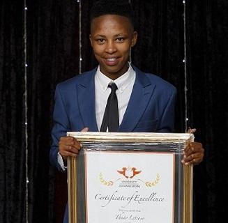 University of Johannesburg: Hard work pays off for UJ soccer star