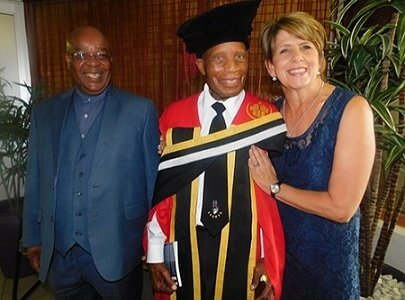 TUT confers honorary doctorate on activist and struggle stalwart, Tlou Cholo