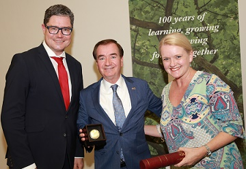 Stellenbosch University honours US champion for Africa, Ed Royce