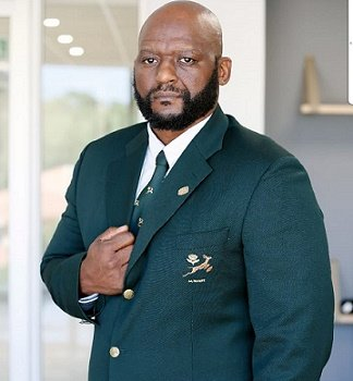 Thando Manana is new president of Madibaz Rugby Club