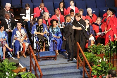 UCT graduation: 'Tell them about the dream'