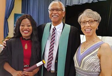 Stellenbosch University graduate inspired by Oprah