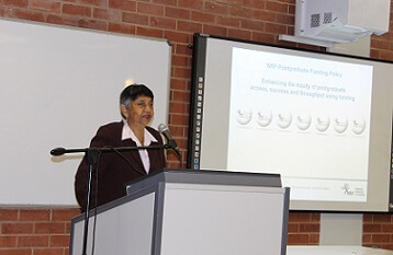 NRF-RISA Executive Committee visit DUT to discuss student funding