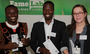 Matia Mukama to represent SU at national FameLab competition