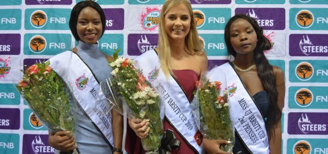 Shandre Hoffman is crowned Miss UJ Varsity Cup