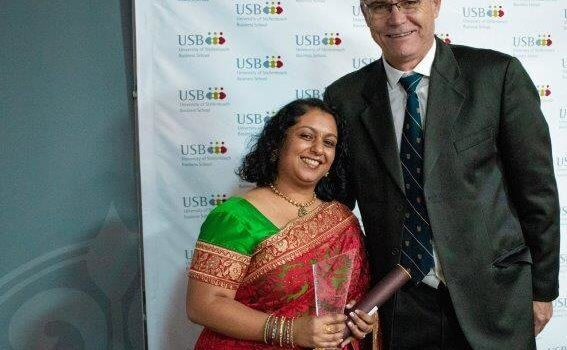 USB awards top student