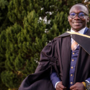 Mother encouraged top graduate from Ghana