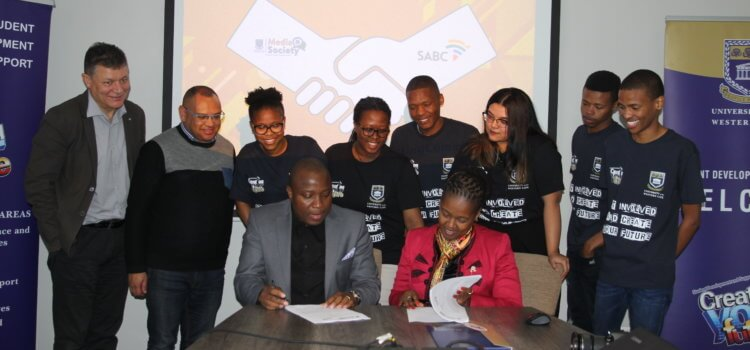 UWC, SABC in historic media partnership