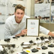 NMU student wins regional architecture award