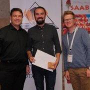 Dr Vic Nicolis awarded prestigious SAAB Bronze Medal
