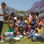 DUT students participate in an important DHET study