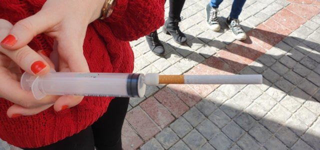 Biodegradable cigarette butts have unintended consequences on the environment
