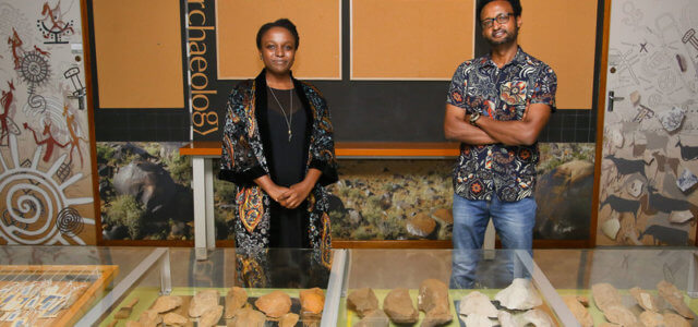 Archaeology is first science department with black staff majority