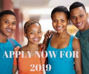 Apply now for 2019